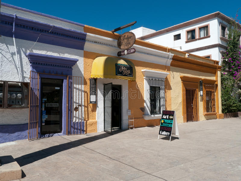 Download Colorful Shops In Small Town Mexico Editorial Stock Image - Image: 38411869