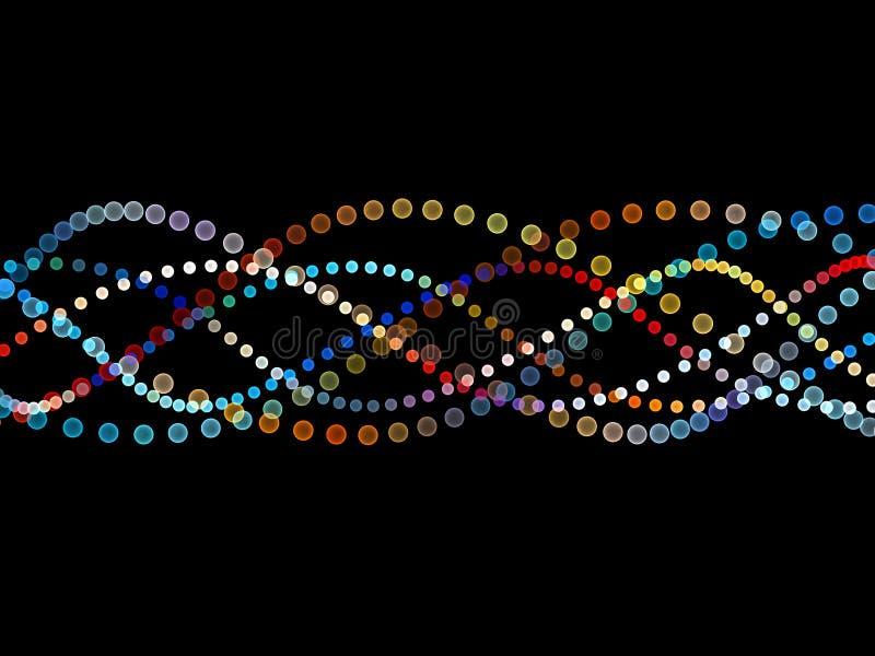 Download Colorful Sine Wave Pattern stock illustration. Image of wave - 22123677