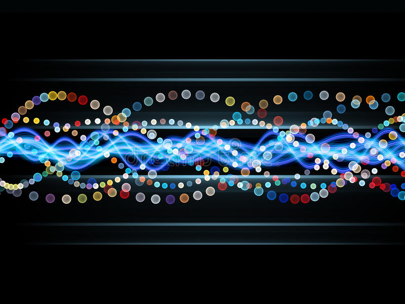 Download Colorful Sine Wave Pattern Royalty Free Stock Image - Image: 22320186