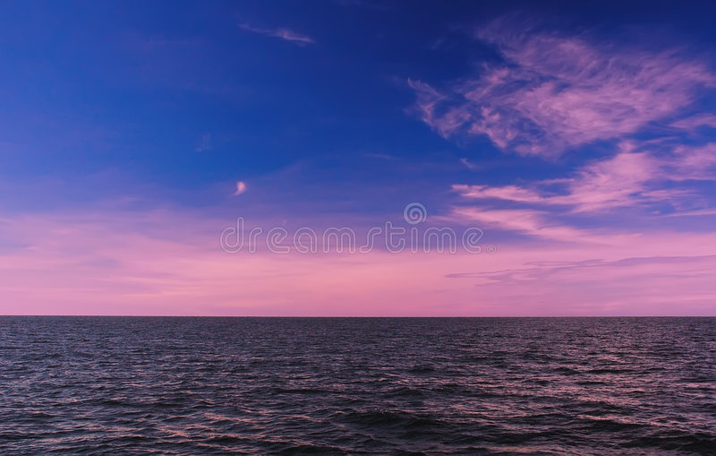 Download Colorful sky. stock photo. Image of pink, mystic, clouds - 647328