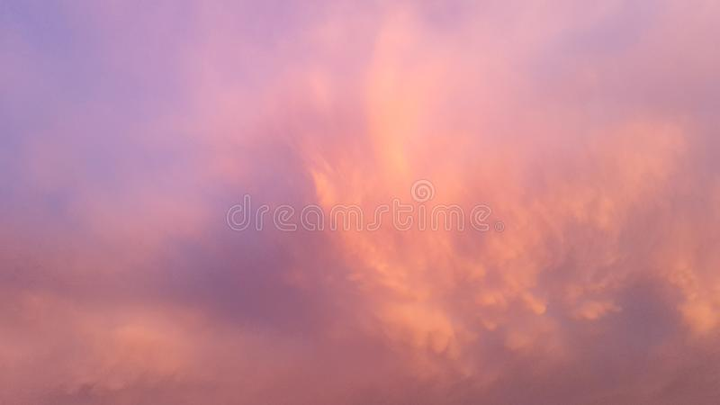 Twilight sky and cloud at evening background royalty free stock image