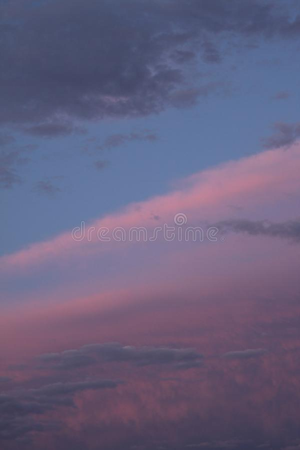 A colorful sky 2637 stock photography