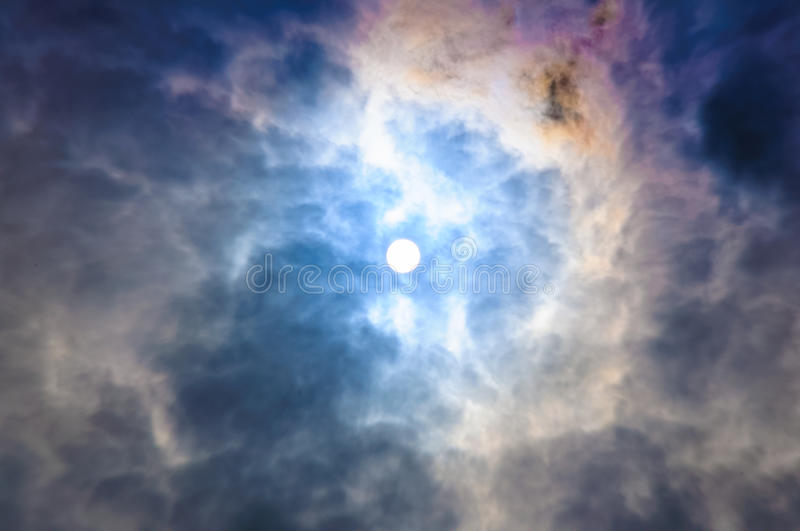 Colorful sky royalty free stock photography