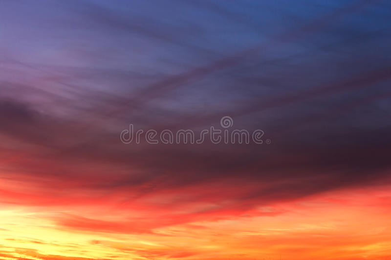 Colorful sky texture stock photo