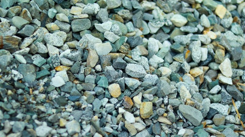 Colorful small pieces of stone. Small pieces of colorful stone royalty free stock image