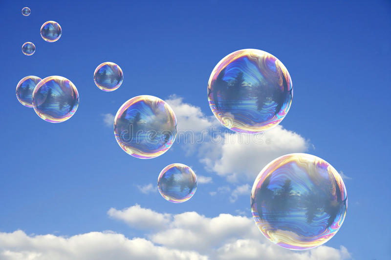 Download Colorful Soap Bubbles stock photo. Image of circle, texture - 11619902