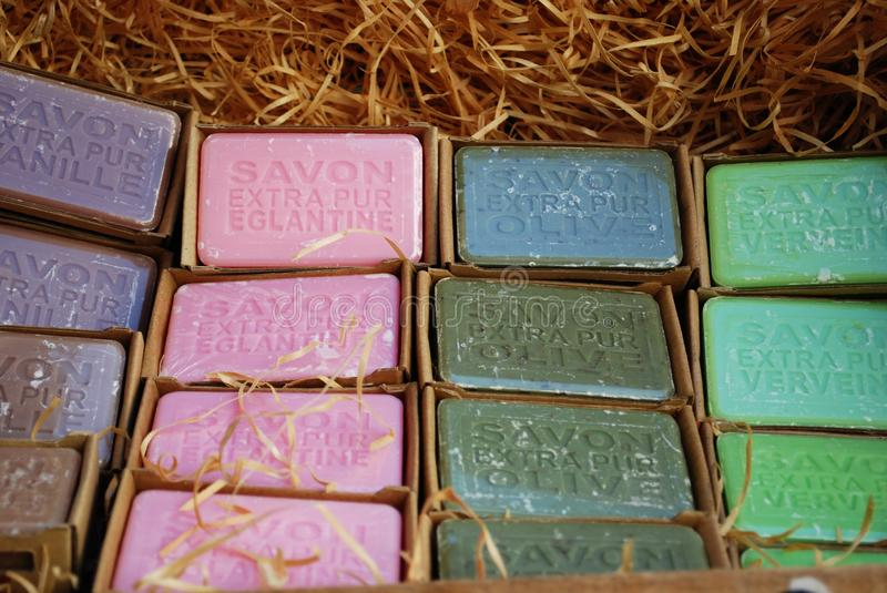 Colorful Soaps Royalty Free Stock Photography