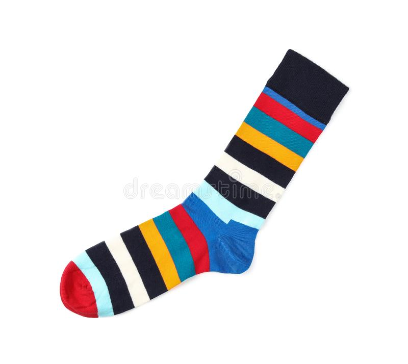 Free Colorful Sock On White Background Stock Photo - 123862070