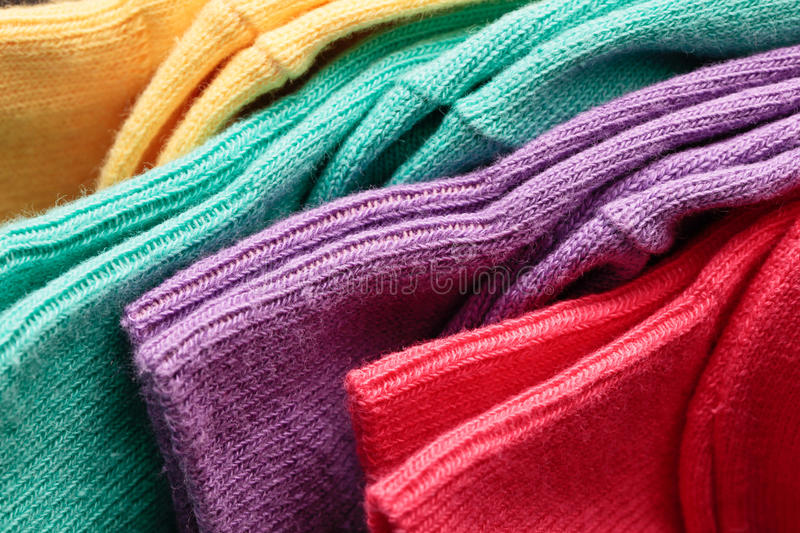 Colorful socks royalty free stock images
