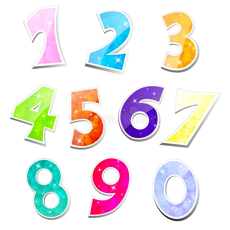Colorful sparkling numbers