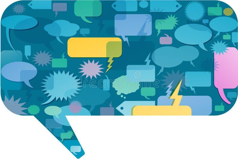 Download Colorful Speech Bubble Concept Stock Vector - Illustration: 21366891