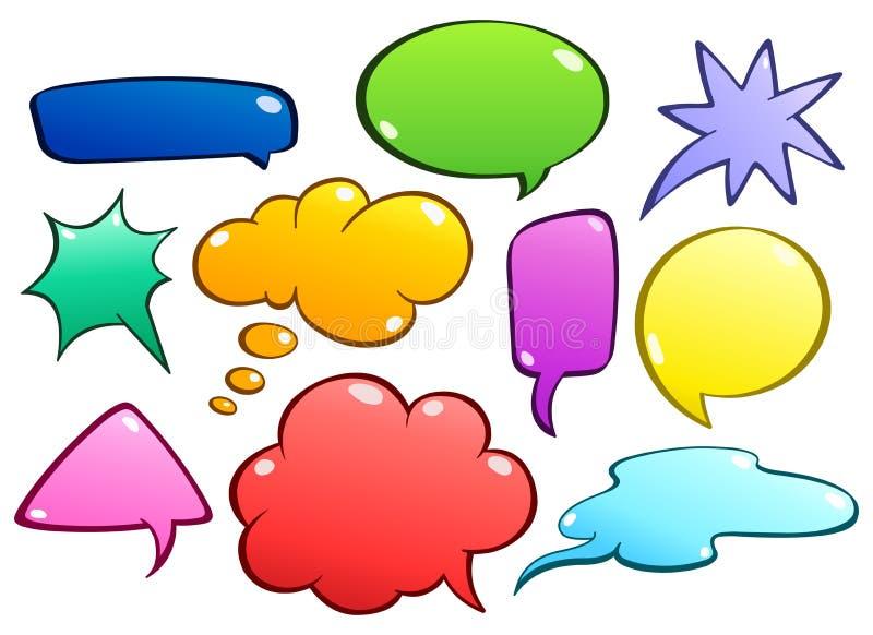 Download Colorful Speech Bubbles Set Stock Vector - Image: 21967208
