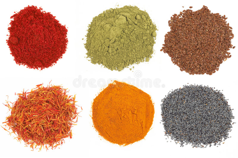 Download Colorful Spices Royalty Free Stock Image - Image: 765056