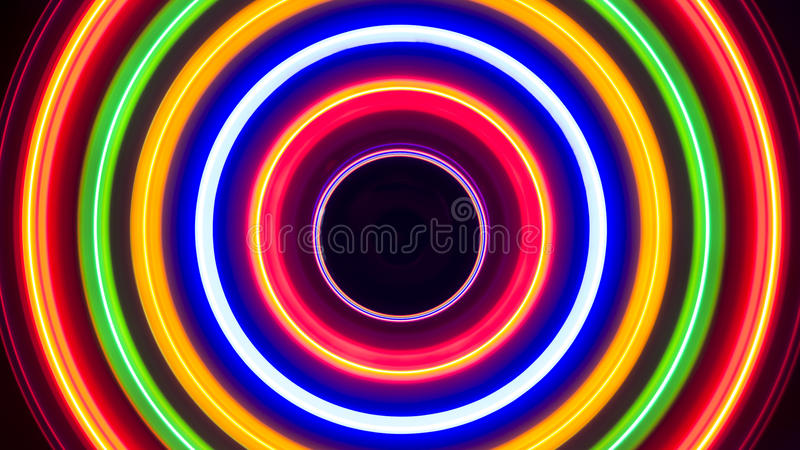 Colorful Spiral Lights Spectrum Background Abstract stock images
