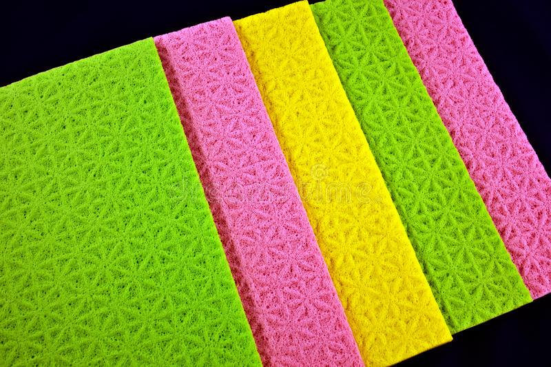 Download Colorful sponge cloths stock photo. Image of green, material - 27715976