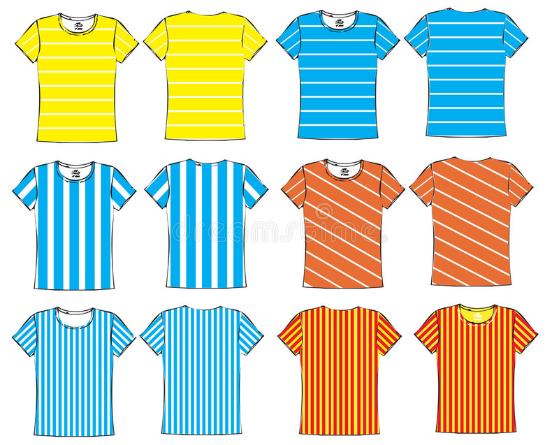 Download Colorful sports jersey stock vector. Image of cotton, clothing - 5174237