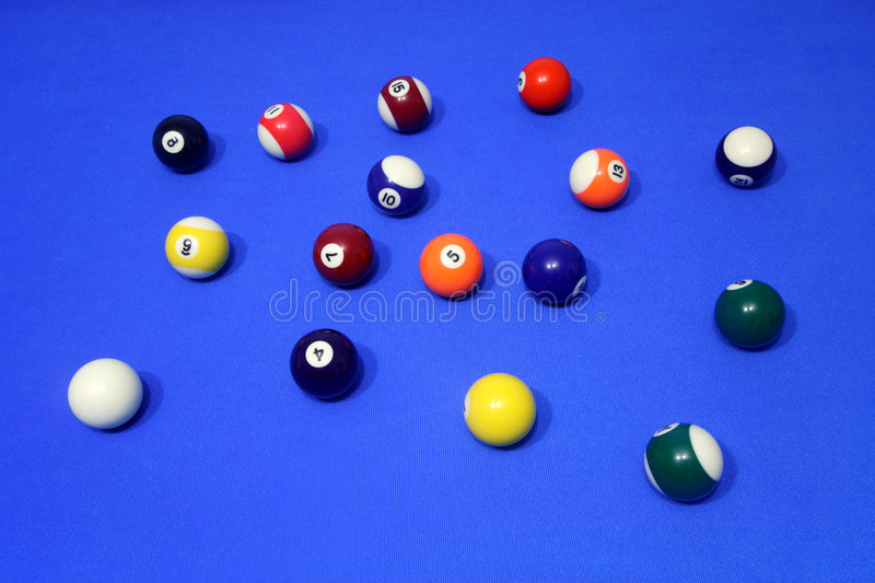 Colorful Spots And Stripes Poo Stock Photo