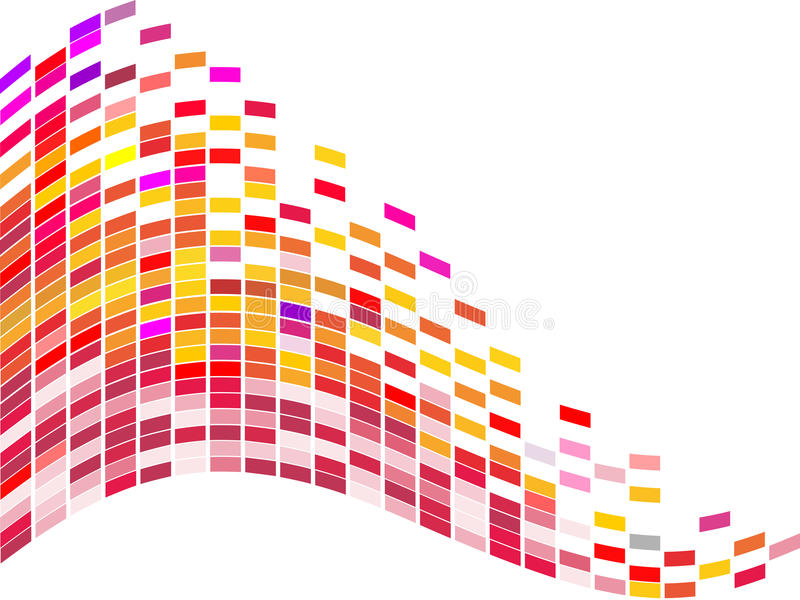 Colorful square background vector illustration