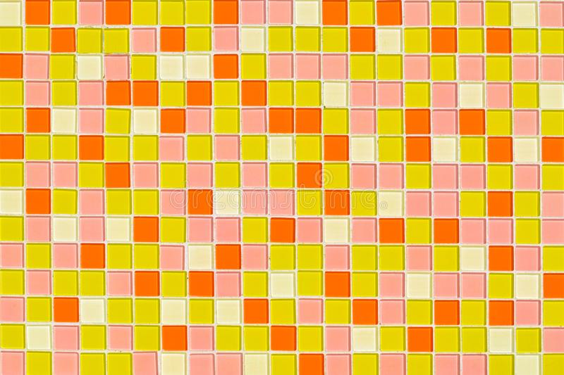 Colorful square texture for making background. royalty free stock images