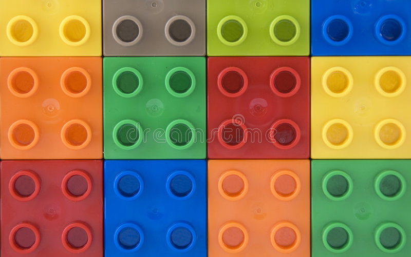 Colorful squares. A close up of colorful squares stock photography