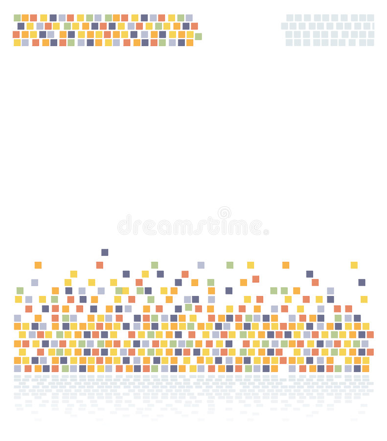 Colorful squares vector illustration