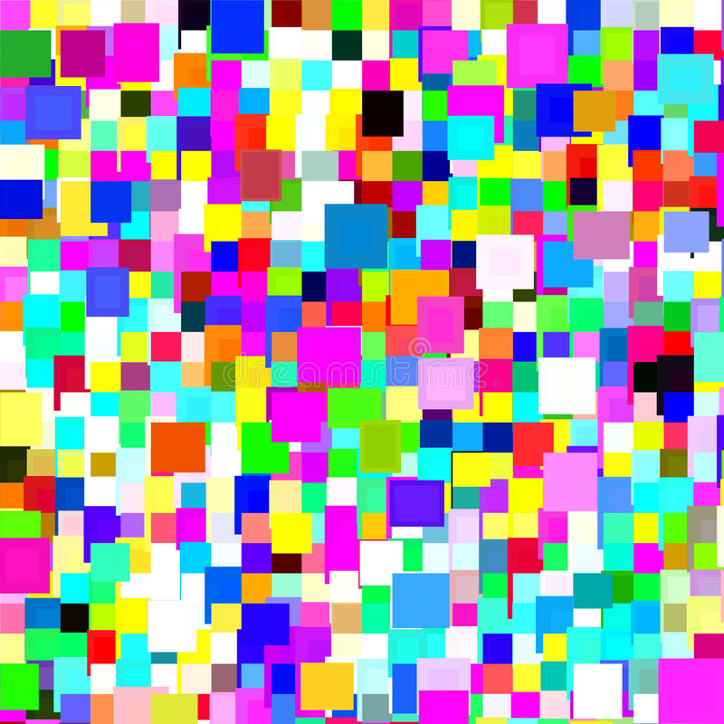 Download Colorful Squares Background Stock Illustration - Image: 4578952
