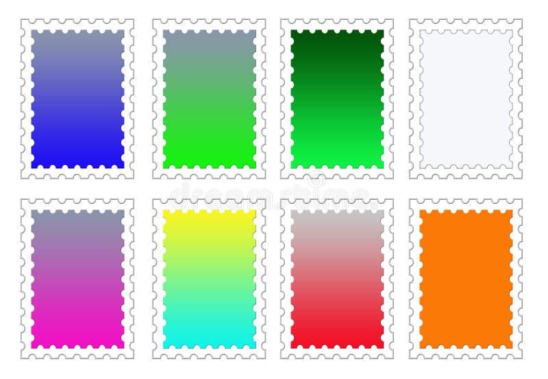 Download Colorful Stamp Backgrounds Set PNG Stock Illustration - Image: 29197625