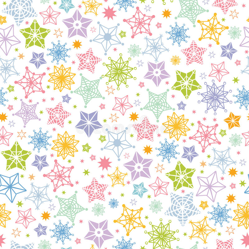 Royalty Free Stock Photo Colorful Stars Seamless Pattern Background Vector Many Hand Drawn Star Shapes Image31418065 on Star Shapes To Print
