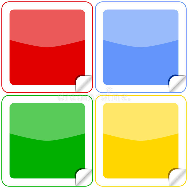 Download Colorful Stickers Buttons Royalty Free Stock Photos - Image: 10633158
