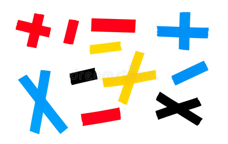Colorful Stickers stock photo