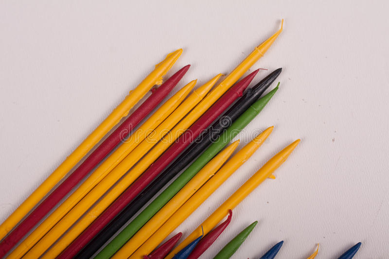 Download Colorful  sticks toys stock photo. Image of kids, white - 83701194