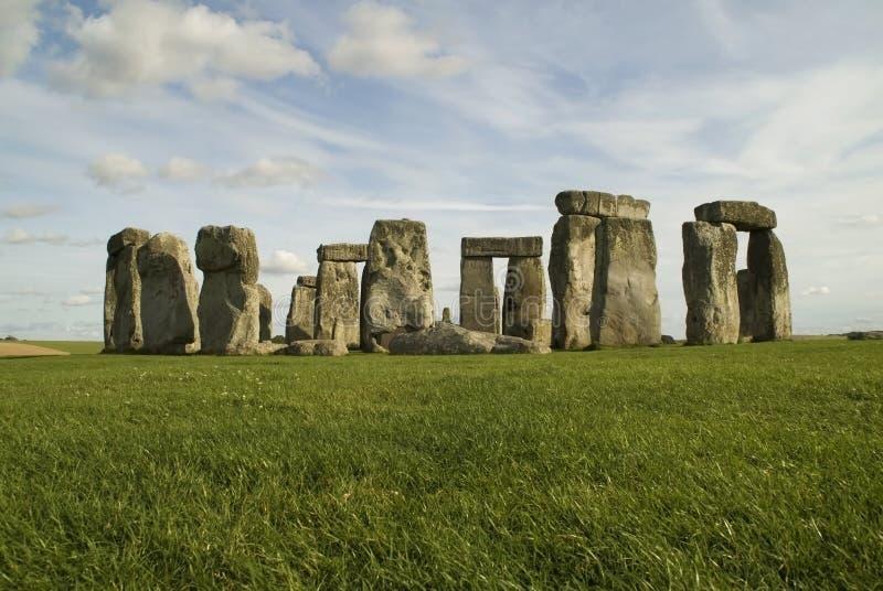 Colorful Stonehenge stock image