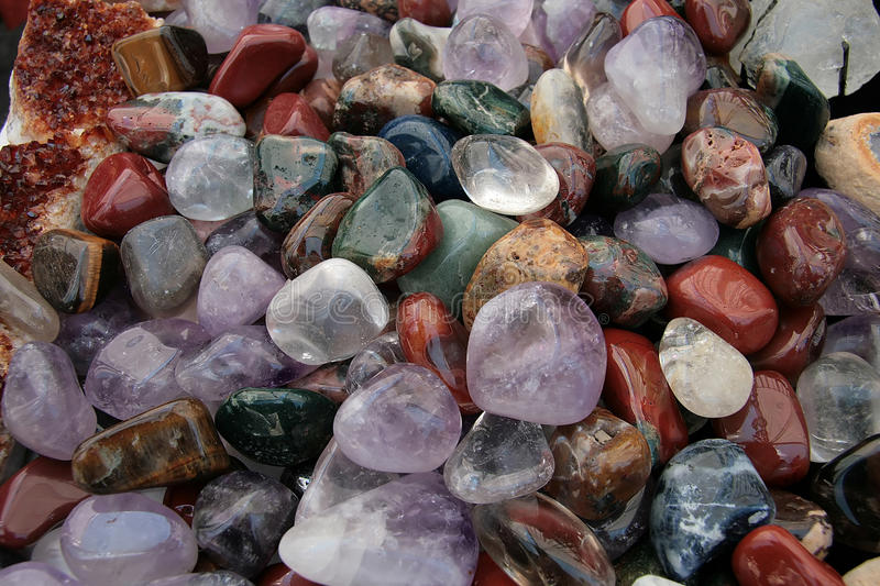 Download Colorful stones stock illustration. Image of amethyst - 13280373