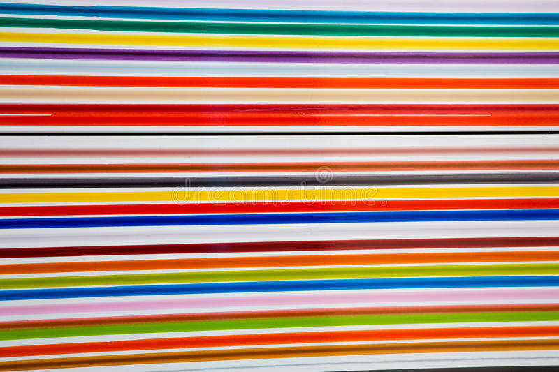 Colorful straight lines abstract background stock image