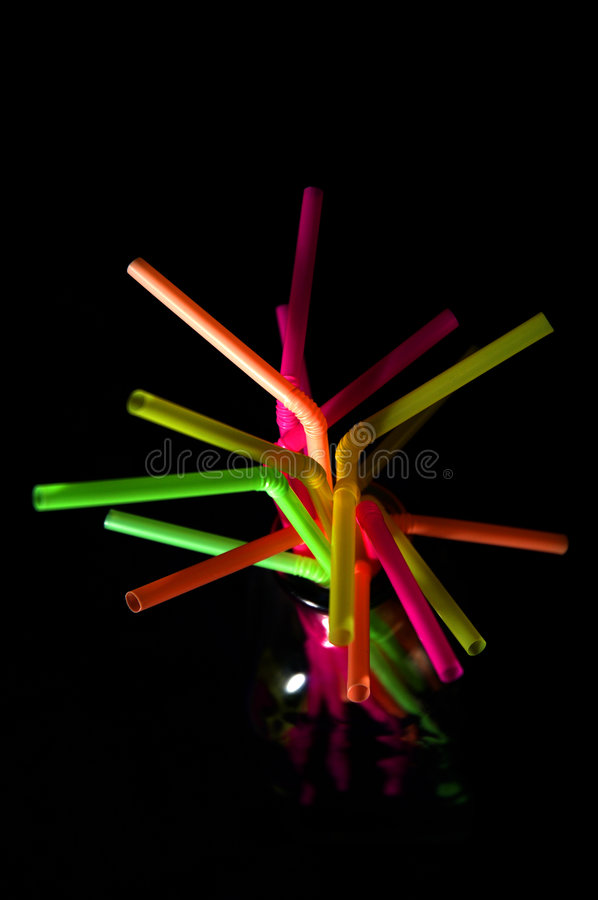 Download Colorful Straws stock photo. Image of light, form, straw - 42920