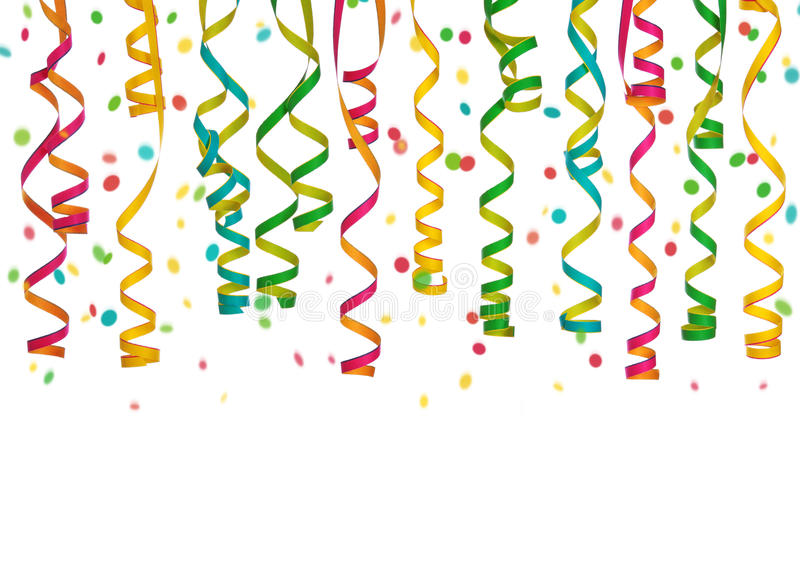 Colorful streamers