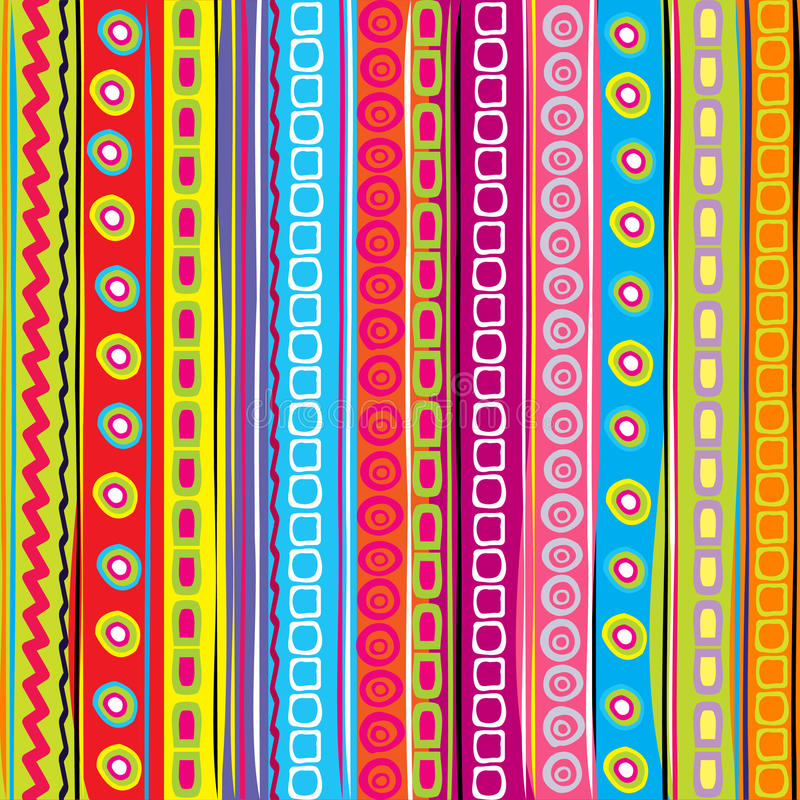 Colorful strip, abstract background stock illustration