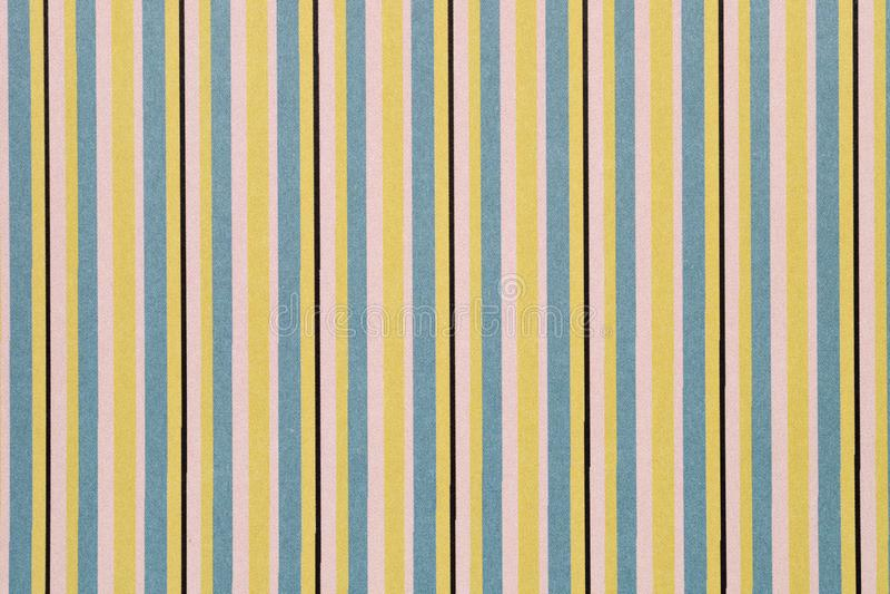 Colorful stripe seamless pattern stock illustration