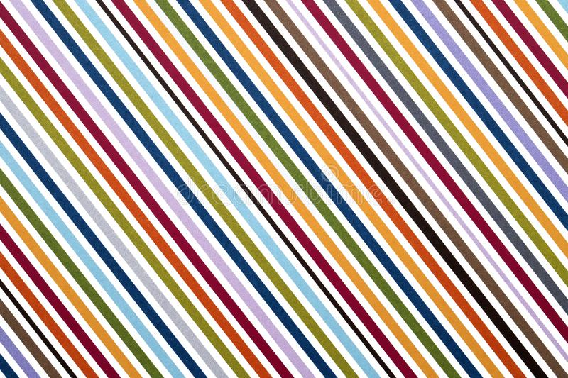 Colorful stripe seamless pattern stock images