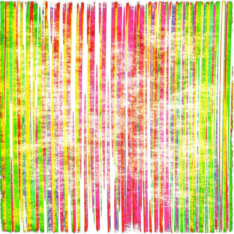 Colorful Striped Grunge vector illustration
