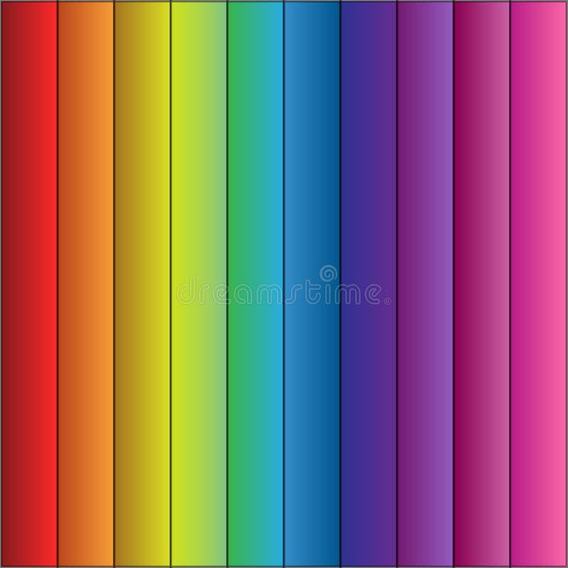 Free Colorful Striped Raindow Background. Vector Eps10 Stock Image - 97035241