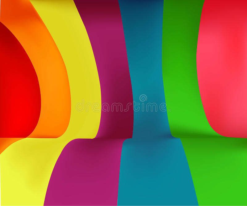 Colorful Stripes Background. Background with a pattern of colorful stripes. Vector format available vector illustration