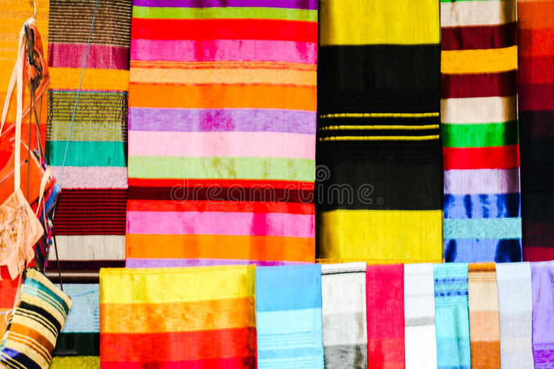 Colorful strips stock images