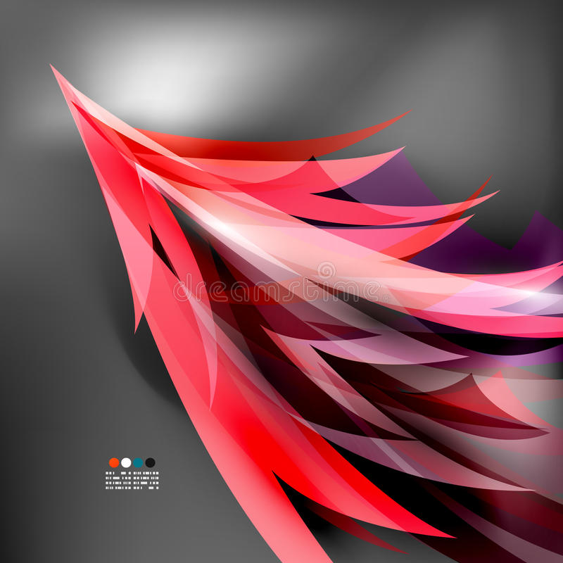 Download Colorful Stylized Parrot Tail Modern Background Stock Vector - Image: 33872316