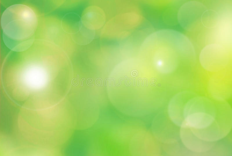 Colorful summer or spring backgound blur. Abstract green nature background. Spring background with illustrated bokeh stock photos