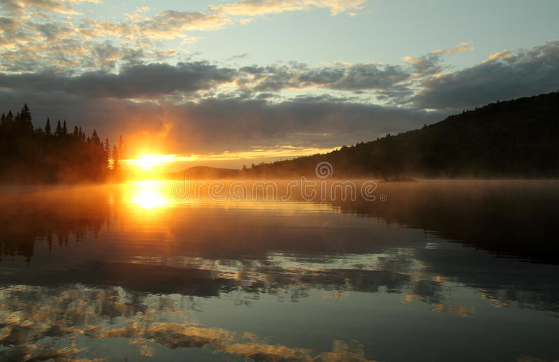 Download Colorful sunrise stock image. Image of wilderness, colorful - 25197091