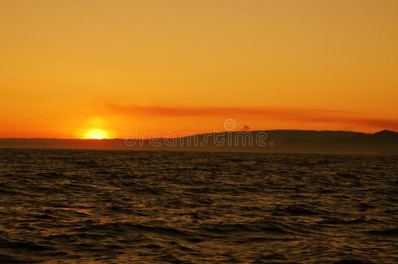 Download Colorful sunrise stock image. Image of vessel, blue, gold - 683997