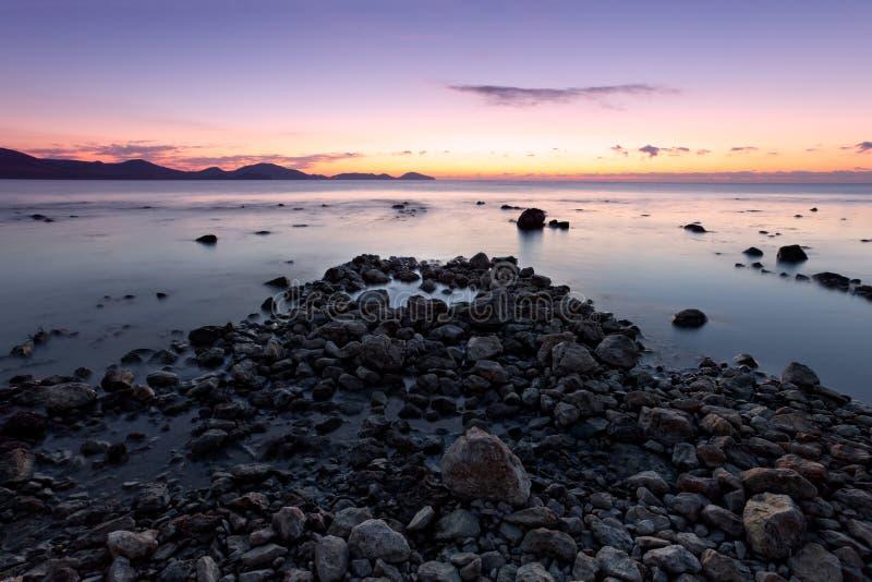 Download Colorful Sunrise On The Rocky Coast Stock Image - Image of season, landscape: 17439437
