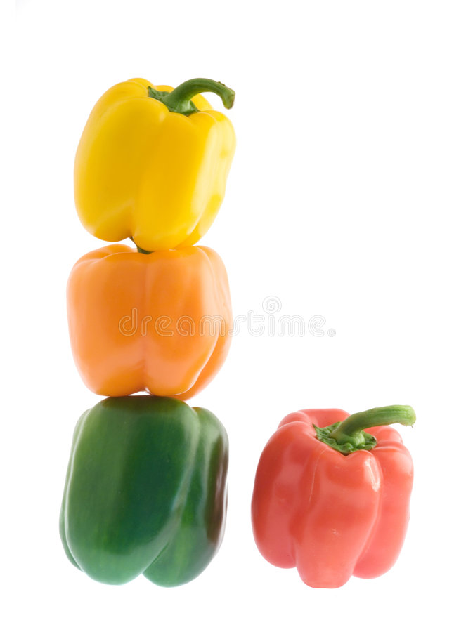 Download Colorful sweet peppers stock image. Image of vitamin, colorful - 7437439