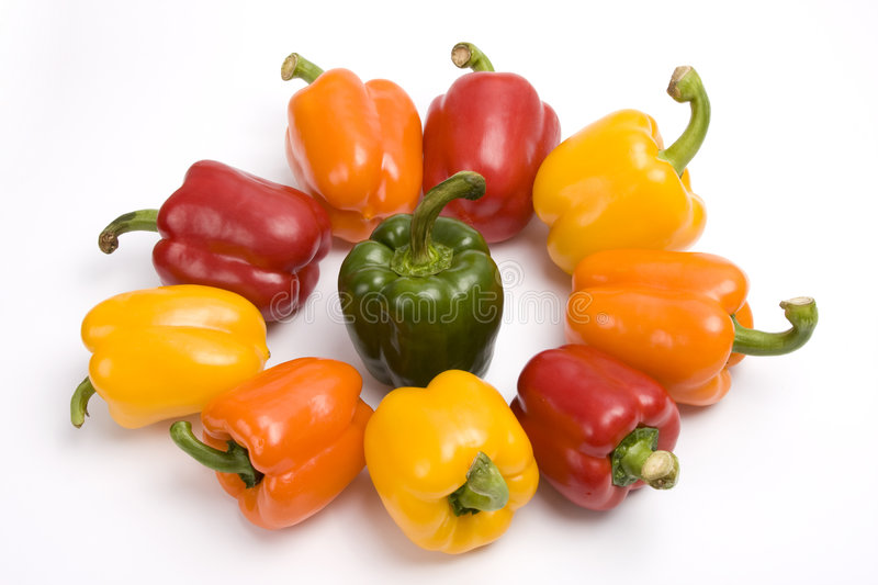 Download Colorful Sweet Peppers. Royalty Free Stock Image - Image: 9280826